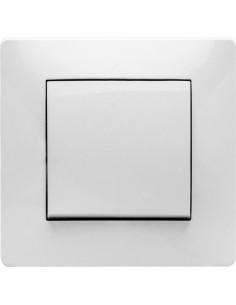 Interruptor 9110 pulsador empotrar 10a-250v de famatel caja de