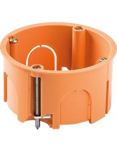 Caja 3255 empotrar pladur ø68x45 con garra de famatel caja de