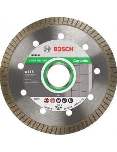 Disco diamante best ceramic 115x22,23x10 de bosch construccion