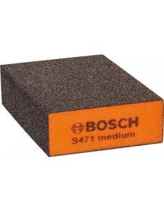 Taco lija bloque medio 69x97x26mm de bosch construccion /