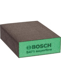 Taco lija bloque super fino 69x97x26mm de bosch construccion /