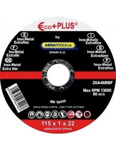 Disco inoxidable e + p 20a46rbf 115x1,0x22 de abratools caja de