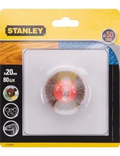 Accesorio sta34041xj cepillo eje lija 50x20 g080 de stanley