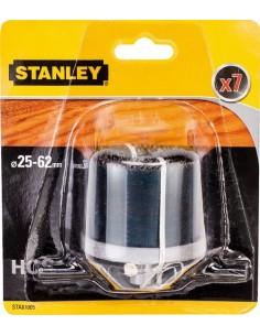 Accesorio sta81005xj 7 brocas campana ø25-62 pr40mm de stanley