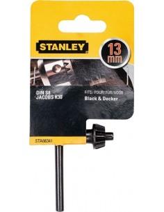 Accesorio sta66341qz llave portabrocas ø13mm de stanley