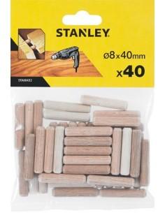 Accesorio sta66432qz 40 espigas madera ø08x040 de stanley