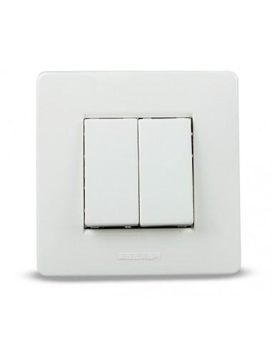 Interruptor 9003 2 conmutador empotrar 16a-250 de famatel caja