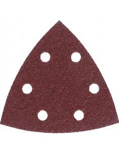 Lija triangular f460 6 perforaciones con velcro 93mm g040 bl5