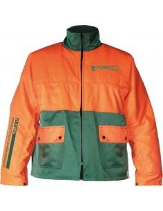 Chaqueta forestal frs-300 t-m naranja/verde de 3l