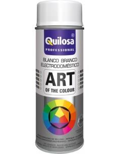 Spray pintura blanco electrico ral9016 400ml de quilosa caja de
