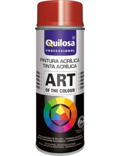 Spray pintura blanco mate ral9010 400ml de quilosa caja de 6