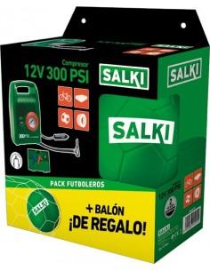 Compresor mini 8306827/p12v compac + balón de salki