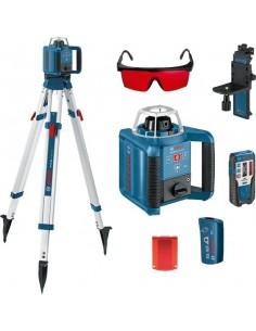 Nivel laser rotativo grl300hv set de bosch construccion /