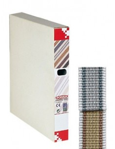 Cinta persiana nº7 50mt 22mm bicolor de ponsa caja de 2 unidades