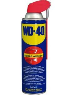 Aceite wd-40 spray 500ml doble acción 34198 de wd-40 caja de 12 unidades