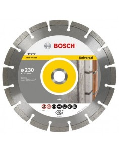 Disco diamante general obra 230x22,23x10 de bosch construccion / industria