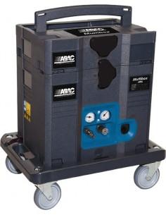 Compresor multibox comby 1,5hp 6l sin aceite de abac