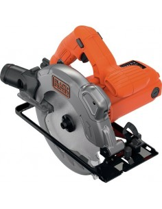 Sierra circular cs1250l-qs 1250w 66mm de black & decker