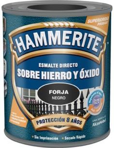 Hammerite metalico forja 750ml gris de hammerite caja de 6