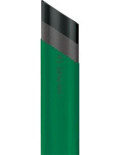 Manguera plana verde 1740001-40mm r/50mt de fitt