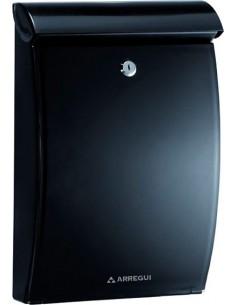 Buzon e5334 mininova plastico negro de arregui