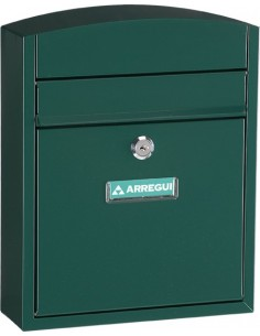 Buzon e5733 compact acero verde de arregui