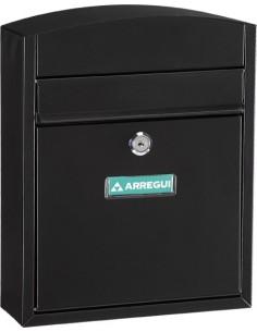 Buzon e5734 compact acero negro de arregui