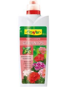 Abono liquido geranios 10511 1l de flower caja de 16 unidades
