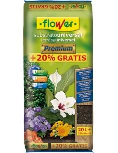 Substrato universal premium 4-80154 20l+20% de flower