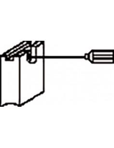 Escobillas 2 piezas 1199.29j bosch de asein caja de 10 unidades