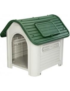 Caseta perro resina dakota green kzt1007 de gardiun