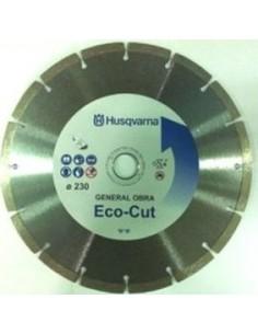 Disco segmentado general obra eco-cut 230 s/c de husqvarna