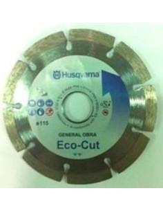 Disco segmentado general obra eco-cut 115 s/c de husqvarna