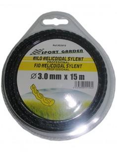 Hilo helicoidal silen.gths3015 3,0mmx15m de green time