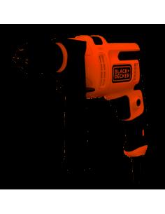 Taladro percutor beh200-qs 500w 13mm+empuñadura de black &