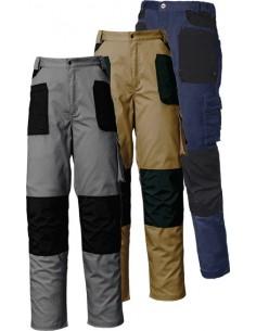 Pantalon stretch azul/negro 8730 t-l de starter