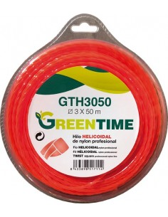 Hilo helicoidal gth3050 3,00mmx50m de green time