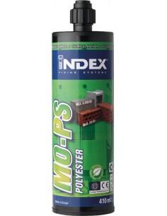Resina polyester s/estireno mops410ml de index caja de 12