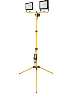 Proyector led tripode 518607 2x50w 8000 lumenes de tayg