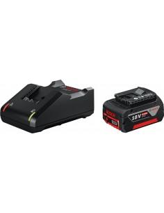 Cargador+bateria 18v 4.0ah de bosch construccion / industria