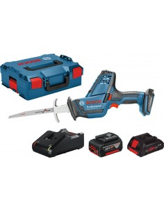 Conjunto sierra gsa18v-li+l-boxx+1b 4ah+cargador de bosch