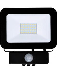 Proyector led ngr.20w sensor 6000k ip65 de marca