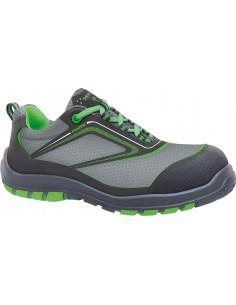 Zapato seguridad nairobi s3 talla-37 verde de panter
