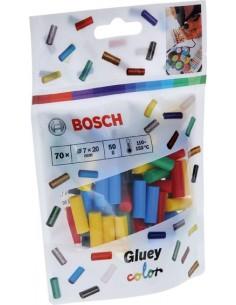 Cola termofusion gluey 7x20mm 14x5 color de bosch bricolaje