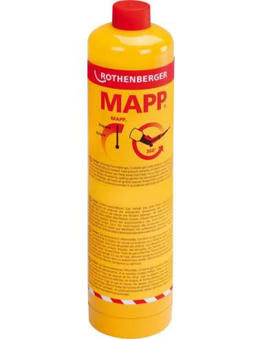 Botella gas mapp 35698-a de rothenberger
