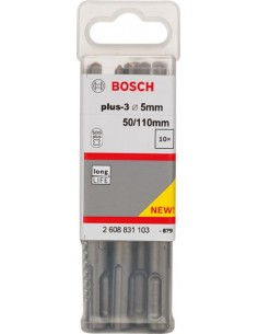 Broca sds plus-3 10x150x210 de bosch construccion / industria