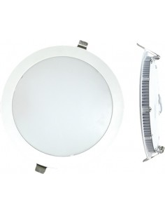 Downlight eco 1471860 led 18w 6000k bco de silver sanz