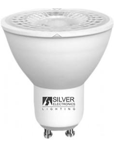Lámpara eco dicróica 1460 led gu10 5w 6000k de silver sanz caja
