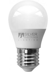 Lámpara eco esférica 1960 led e27 5w 3000k de silver sanz caja