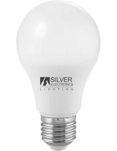 Lámpara eco estándar 1981 led e27 12w 6000k de silver sanz caja